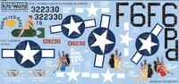 A-26C For Pete's Sake, Lady Liberty 1/48 Warbird Decals