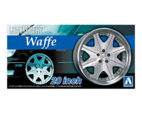 "Leonhardiritt Waffe 20"" Tire & Wheel Set (4) 1/24 Aoshima"