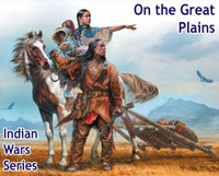 On the Great Plains Indian Family w/Horse & Accessories 1/35 Masterbox