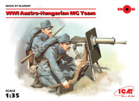 WWI Austro-Hungarian MG Team (2) 1/35 ICM Models