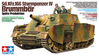 German SdKfz 166 Sturmpanzer IV Brummbar Late Production Assault Tank 1/35 Tamiya