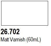60ml Bottle Matt Varnish Mecha Color Vallejo Paint