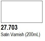 200ml Bottle Satin Varnish Mecha Color Vallejo Paint