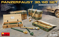 WWII Panzerfaust 30/60 Infantry Weapons w/Ammo Boxes 1/35 Miniart Models