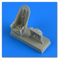 Ju-87B Stuka Seats w/Safety Belts for HSG 1/48 Quickboost