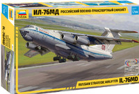 Russian Il-76 MD Strategic Airlifter Aircraft 1/144 Zvezda