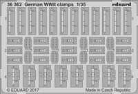 German Clamps WWII 1/35 Eduard
