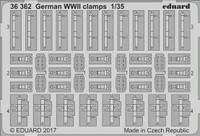 German Clamps WWII 1/35 Eduard