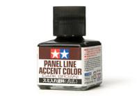 Dark Brown Panel Line Accent Color (40ml Bottle) Tamiya