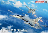 ROCAF F-CK1C Ching Kuo Single-Seat Indigenous Defense Fighter 1/48 Freedom Model Kits