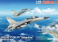 ROCAF F-CK1D Ching Kuo Two-Seat Indigenous Defense Fighter 1/48 Freedom Model Kits