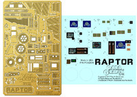 Battlestar Galactica: Raptor Photo-Etch Detail Set for MOE 1/32 Paragrafix