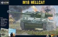 Bolt Action: WWII M18 Hellcat US Tank Destroyer (Plastic) 28mm Warlord Games