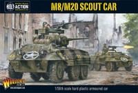 Bolt Action: WWII M8/M20 Greyhound US Scout Car (Plastic) 28mm Warlord Games