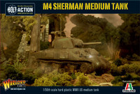 Bolt Action: WWII M4 Sherman US Medium Tank (Plastic) 28mm Warlord Games