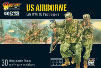 Bolt Action: WWII Late US Airborne Paratroopers (30) (Plastic) 28mm Warlord Games