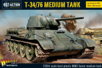 Bolt Action: WWII T34/76 Soviet Medium Tank (Plastic) 28mm Warlord Games