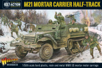 Bolt Action: WWII M21 Mortar Carrier US Halftrack (Plastic w/Resin & Metal Parts) 28mm Warlord Games