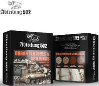 Urban Textures & Buildings Pigment Set (4 Colors) 20ml Bottles Abteilung 502