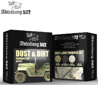 Dust & Dirt Pigment Set (4 Colors) 20ml Bottles Abteilung 502