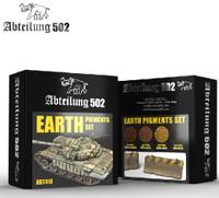 Earth Pigment Set (4 Colors) 20ml Bottles Abteilung 502