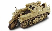 WWII SdKfz 2 Kleines Type HK101 German Kettenkrad Military Motorcycle 1/9 Italeri