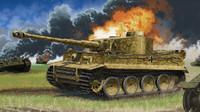 Tiger I Early Version German Tank Operation Citadel 1/35 Academy