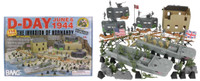 D-Day Invasion of Normandy Diorama Playset (114pcs) 54mm BMC Toys