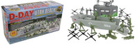 D-Day Utah Beach Diorama Playset (40pcs) 54mm BMC Toys