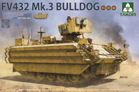 British FV432 Mk 3 Bulldog Armored Personnel Carrier (2 in 1) 1/35 Takom