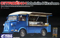 Citroen Type H Mobile Kitchen Truck w/Interior Details 1/24 Ebbro