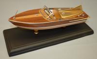 "1955 Chris Craft 21' Cobra Boat Laser Cut Kit 1/24 (10.5"") Dumas"