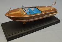 "1956 Chris Craft 21' Capri Boat Laser Cut Kit 1/24 (10.5"") Dumas"