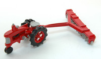 Tractor w/12 Bottom Disc Harrow HO JL Innovative Design