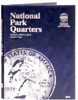 National Park Quarters Vol.1 2010-15 Philadelphia & Denver Mint Coin Folder Whitman