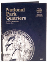 National Park Quarters Vol.2 2016-21 Philadelphia & Denver Mint Coin Folder Whitman