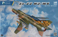 Su22 M3/M4 Russian Fighter 1/48 Kitty Hawk Models