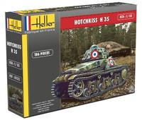 Hotchkiss H35 Tank 1/35 Heller