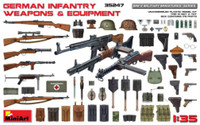 German Infantry Weapons & Equipment 1/35 Miniart