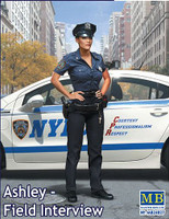 Ashley Modern Police Woman 1/24 Masterbox