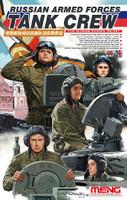 Russian Armed Forces Tank Crew Figure Set (4) 1/35 Meng Models