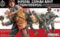 Imperial German Army Stormtroopers Figure Set (4) 1/35 Meng Models