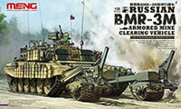 Russian BMR3M Armored Mine Clearing Vehicle 1/35 Meng Models