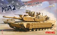 M1A2 SEP Abrams Tusk I/II US Main Battle Tank 1/35 Meng Models
