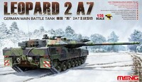 Leopard 2A7 German Main Battle Tank 1/35 Meng Models