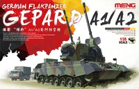 Gepard A1/A2 German Flakpanzer 1/35 Meng Models