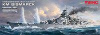 KM Bismarck German Battleship 1/700 Meng Models