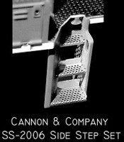 Side Step Set for Proto 2000 SD60 (Photo-Etch) HO Scale Cannon & Company