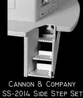 Side Step Set for Proto 2000 SD50 (Photo-Etch) HO Scale Cannon & Company
