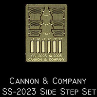 Side Step Set for Athearn SD45T-2 (Photo-Etch) HO Scale Cannon & Company